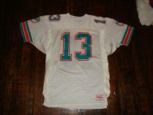 Vintage Miami Dolphins Dan Marino Wilson Authentic Pro Cut NFL Jersey 46