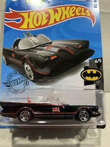 Hot Wheels Tv Series Batmobile DC BATMAN 4/5 SEALED UNOPENED 197/250 !!!!!!