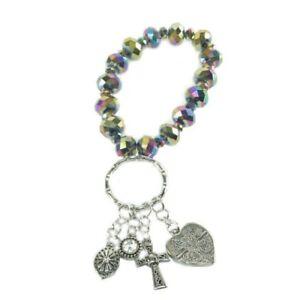 Alexa's Angels Key Ring Bracelet #32108 Gold, Free Shipping!