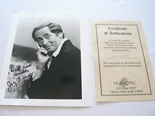 *JOEY BISHOP*HAND SIGNED* PHOTO*COA INCLUDED*PERFECT*RAT PACK*JOEY BISHOP*