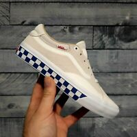 Vans TNT Advanced PROTOYPE Checkerboard Marshmallow Men's Shoes Size 7.5