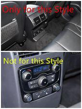 Interior Armrest Box Rear Air Vent cover Trim 1pcs  for Jaguar F-Pace X761 16-17