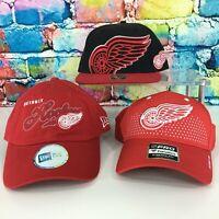 New DETROIT RED WINGS Hats Caps NHL Hockey Snapback Winged Wheel Hockeytown Cool