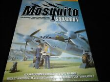 Mosquito Squadron - Combat Flight Simulation Simulator 2 add on    Pc game boxed
