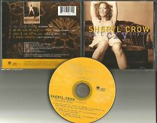 SHERYL CROW Can't Cry Anymore w/ 3 LIVE TRX LIMITED USA CD single 1993 MINT