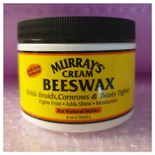 Murray's Cream Beeswax For Natural Styles 6oz 100% Australian  - Australia Stock
