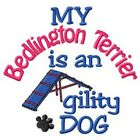 My Bedlington Terrier is An Agility Dog Sweatshirt - DC1938L Size S - XXL