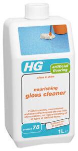 HG Nourishing Gloss Cleaner (Clean & Shine) (Product 78) 1L - For Vinyl Floors