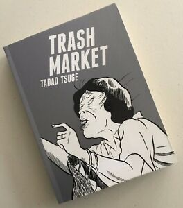 Trash Market by Tadao Tsuge (English) Paperback Adult Comic Book 2015 Manga