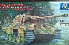 Italeri 1/35: Panther Ausf. une norme allemande Réservoir (pas de chiffres inclus) 270 Kit