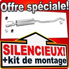 Silencieux Intermédiaire OPEL CORSA 1.2 1.4 1.5 1.7 D TD 1993-2000 DEB