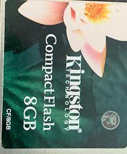 Kingston Ultimate 8GB - Compact Flash Card - CF/8GB