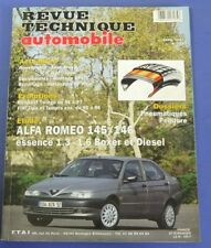 Revue technique automobile rta 595 Alfa romeo 145/146 essence & diesel