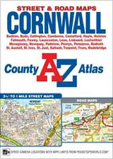 Cornwall County Street Atlas by A-Z Maps (Spiral, 2019)