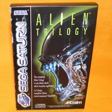 VINTAGE 1996 SEGA SATURN ALIEN TRILOGY VIDEO GAME PAL & FRENCH SECAM VERSION