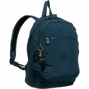 Kipling Challenger Night Teal Blue Backpack