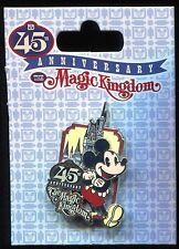 WDW 45th Anniversary The Magic Kingdom Logo Classic Mickey Disney Pin 118367