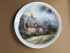 "Thomas Kinkade ~ Painter of Light ~ Moonlight Cottage 6"" Saucer/Plate"