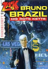 BRUNO BRAZIL: DIE ROTE KETTE   ZACK-Sonderheft #2   WILLIAM VANCE  XIII