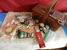 BEAU LOT DE MERCERIE ANCIENNE à utiliser ou collectionner  vendu sans la boite