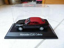 Mercedes CLK Cabrio Softtop Black Red Schuco 1/43 Miniature