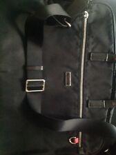 pre-owned tumi nylon messenger bag
