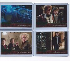 Harry Potter Goblet of Fire Promo set GREEN Toy Fair 4 cards