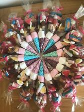 10 X Pre-Filled Sweet Cones All Occasions, Birthday Party