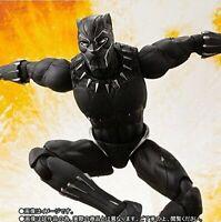 S.H.Figuarts Black Panther Avengers / Infinity War Action Figure Bandai Japan