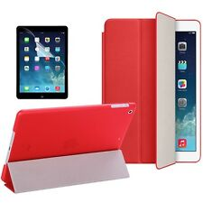 Apple ipad Mini 1 2 3 Polyurethane ultraThin Durable Smart Case cover Red