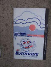 1981 Evinrude V-4 Models 90 115 140 HP Outboard Motor Owner Operator Manual. S