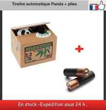 Tirelire originale automatique Panda + Piles comprises
