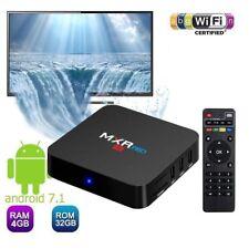 MXR Pro 4K OTT TV Box Quad Core Android 7.1 RK3328 Smart USB3.0 4K 4G/32G BT 4.0