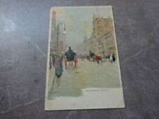 POSTCARD EXHIBITIONS GLASGOW 1901 - BUCHANAN STREET