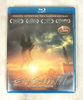 Evangelion 1.11 You are (not) alone Pelicula 2010 Blu Ray VGC