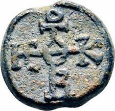 Byzantine Lead Seal of Gabriel Stratelates ca.800 Military General Theotokos God