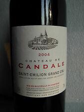 CHÂTEAU DE CANDALE 2004 - SAINT EMILION - GRAND CRU