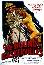 THE HOUND OF THE BASKERVILLES Movie POSTER 27x40 Robert Rendel Frederick Lloyd