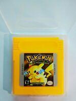 Pokemon YELLOW Version for Nintendo Gameboy Video Game Cartridge English