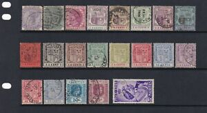 Mauritius Stamp Mix Mint & Used QV-KEVI As Scans (2 Scans)