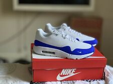 10449702032ef MAX 1 ULTRA ESSENTIAL NIKE AIR  Blanco Azul  819476 114  UK 7.5