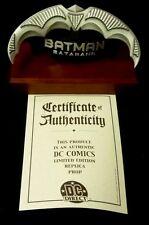 DC Comics Batman Official Batarang Mini-Prop Limited Edition #42 DC Direct 2000