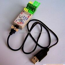 USB TO RS485 / USB TO RS232/ 232 TO 485 converter adapter LED Indicator F/ WIN7