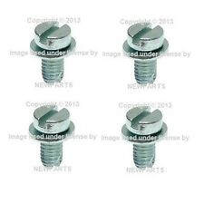 For Porsche 356A 911 914 Set Of 4 Engine Shroud Screws EMPI N0107108