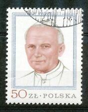 Polen 2632 gestempeld (3) paus Johannes Paulus II