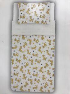 Disney Baby LION KING SIMBA Easy Care Duvet Set 1 Pillowcase Cot Junior Toddler