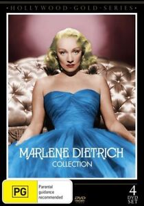 DVD MARLENE DIETRICH COLLECTION - PAL - NEW & SEALED