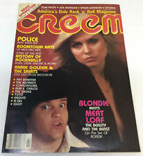 February 1980 Creem~Blondie, Meat Loaf, The Police, Boomtown Rats, more