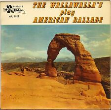 "RARE THE WALLAWALLA'S ""AMERICAN BALLADS"" SURF GUITAR 60'S EP HOLIDAY 1022"