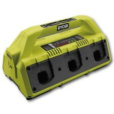 Ryobi ONE+ BATTERY SUPERCHARGER 18V 6-USB Ports, Energy Save,Wall Mount RC18627U